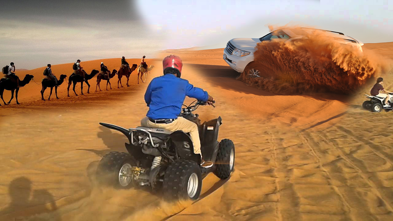 Morning Desert Safari + Quad Bike